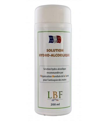 Solution hydro-alcoolique